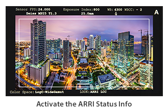 ARRI Alex Metadata over SDI